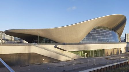 The London Aquatics Centre was honoured in the same category as the JW3 community centre