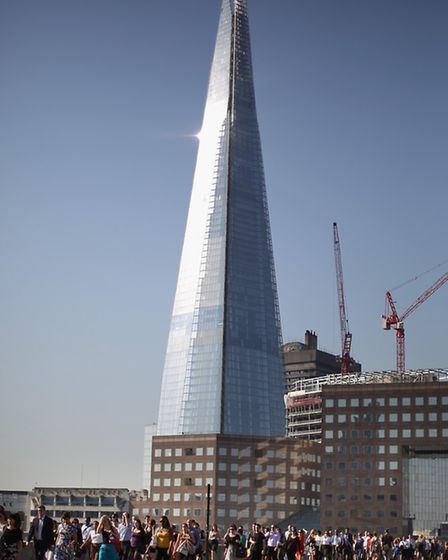 The iconic Shard was also recognised by RIBA. Picture: Peter Macdiarmid/Getty Images