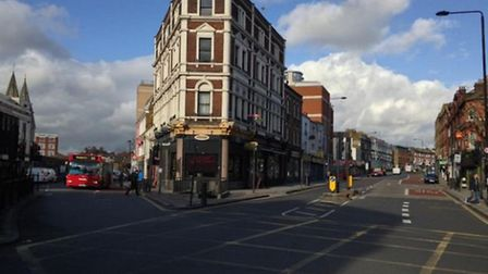 Transforming the Kentish Town toilets into a bar took a step further yesterday
