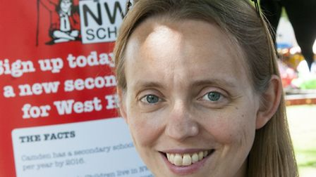 Clare Craig, leader of the West Hampstead International Free School campaign