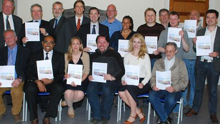 Camden Conservatives launch their latest manifesto. Picture: Polly Hancock.