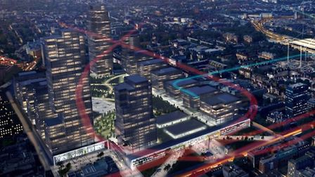One of the proposed designs for Euston station that has surfaced