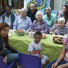 Community lunch at The Winch. Picture: Nigel Sutton.