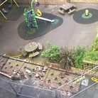 A plaground wall collapsed at Lordship North Estate crushing two children