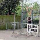 Polling station at Parliament Hill School. Picture: Dieter Perry