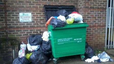 A 35 year fight to get a refuse container installed has turned into another fight to get it emptied