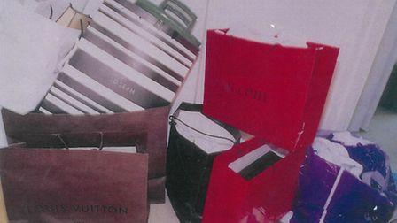Victim's money was used to fund 'a life of luxury': Designer bags found at one of Juliette D'Souza's