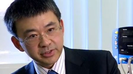 Dr David Chao, consultant from the Royal Free, says the treatment represents a 'paradigm shift' in t