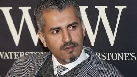 Maajid Nawaz. Picture: Nigel Sutton.