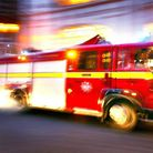 Fire crews rushed to the scene in Barbauld Road, Stoke Newington