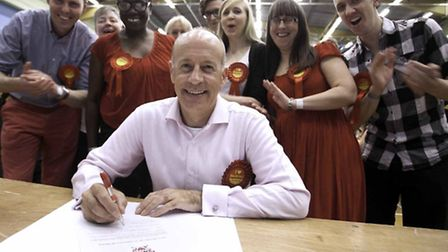 Jules Pipe was voted in as Mayor again. Photo by Gary Manhine, Hackney Council.