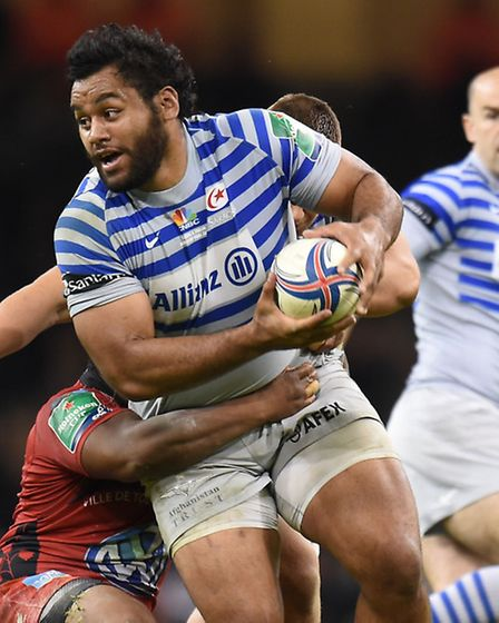 Saracens' Billy Vunipola in action during the Heineken Cup final at the Millennium Stadium in Cardif