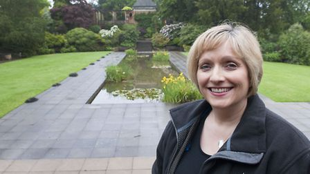 The Hill Garden could soon hold London's first all-outdoors wedding ceremonies . Yvette Hughes, busi