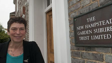 Jane Blackburn,manager of Hampstead Garden Suburb Trust, is on the trip. Picture: Nigel Sutton.