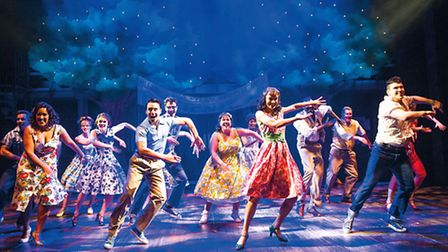 A scene from The Pajama Game @ Shaftesbury Theatre.Words and Music by RICHARD ADLER and JERRY ROSS