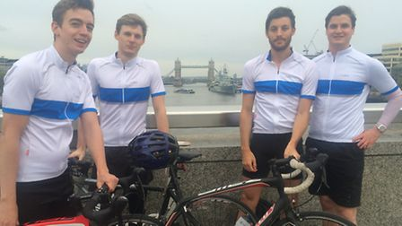 Chris Walker will be cycling with three friends from London to Paris in memory of his late father