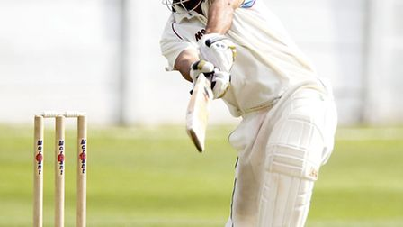Hampstead's Ragheb Aga was the top scorer in the match against North Middlesex, hitting 65. Pic: Max
