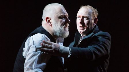 King Lear by William Shakespeare at The National Theatre with Simon Russel Beale