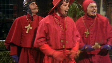 The surviving members of Monty Python hope to perform The Spanish Inquisition sketch live for the fi