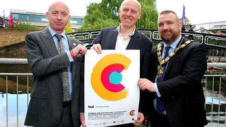 Chief executive of Camden Town Unlimited Simon Pitkeathley, chief executive and artistic director of