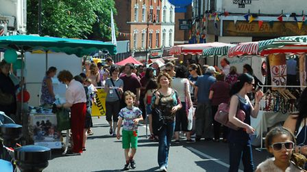 Hampstead Summer Festival's Big Fair. Picture: Polly Hancock