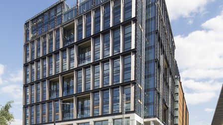 The new Camden Council headquarters at 5 Pancras Square. Picture: John Sturrock