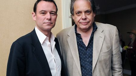 Andrew Lancel (left) and David Stark. Picture: Dieter Perry.