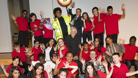 Haverstock School Governor Jim Mulligan wrote and directed a play 'Out of Luck'. Jim Mulligan pictu
