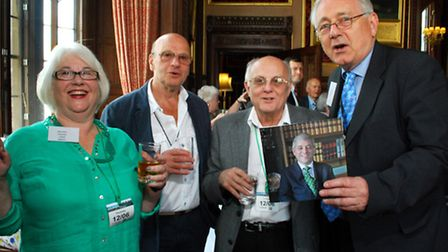 The Child Survivors of Great Britain 20th Anniversary reception held in the Speakers House, House of