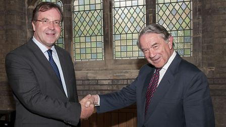 New Heath and Hampstead Society chairman Marc Hutchinson takes over from Tony Hillier. Picture: Nige