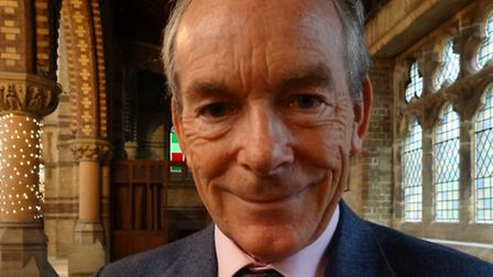 Sir Simon Jenkins at St Stephen's in Rosslyn Hill. Picture: Ron Vester
