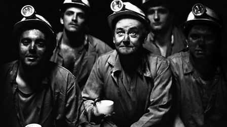 Mandatory Credit: Photo by Sefton Samuels/REX (835914f)Coal Miners, Group of 5Leigh Colliery, St.