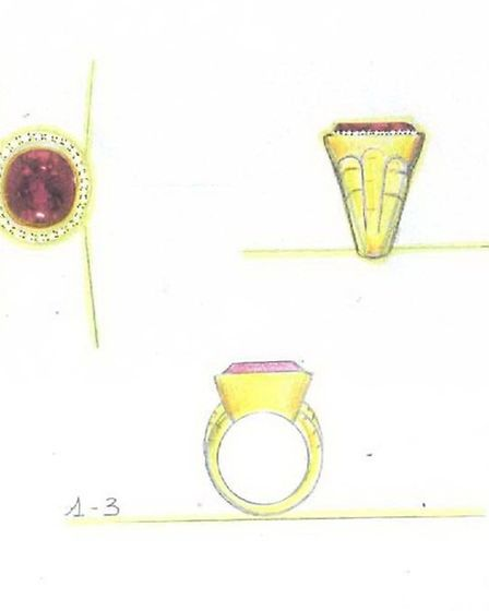 Another of the stolen rings