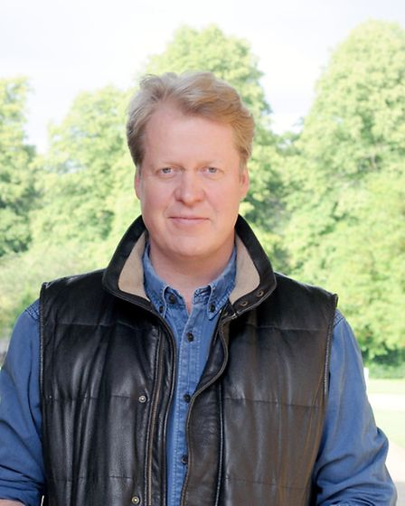 EARL SPENCER IN THE GROUNDS AT ALTHORP NORTHAMPTON. Picture: Justin Creedy Smith