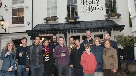 Residents rallied to save The Holly Bush pub when the plans emerged last year. Picture: Nigel Sutton