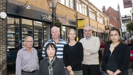 Residents, traders and councillors in Perrin's Court opposed the previous planning . Picture: Nigel