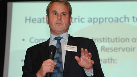 Speaker Philip Everett, City of London's director of the built environment, who is in charge of the