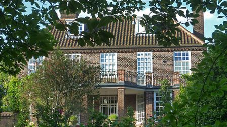 The home in Wildwood Road where Elizabeth Taylor was born. Picture: Nigel Sutton.