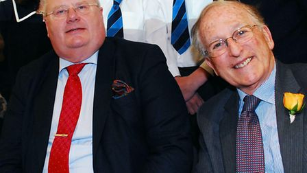 Lord Janner (right) and cabinet minister Eric Pickles. Picture: Polly Hancock.