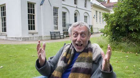 Michael Rosen day of poetry at Keats House. Picture: Nigel Sutton