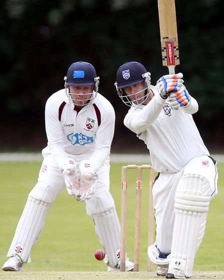 Liam Hughes hit 70 for Hampstead but it was not enough. Pic: Max Flego