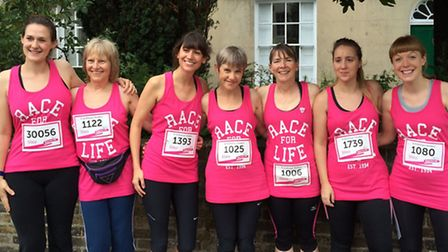 Teachers from St Anthony's School in Hampstead raised more than £1,000 for Cancer Research