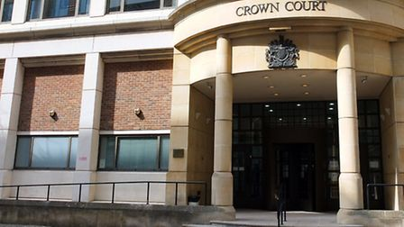 Gregory Stevens was sentenced at Blackfriars Crown Court charged with 10 counts of burglary and one
