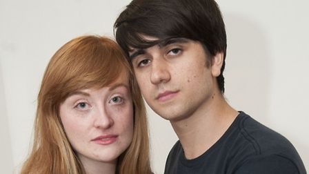 Teacher Elizabeth Lumb and her boyfriend Jack D'arc,y a couple who feel they will never to be able t
