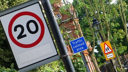 Road safety campaigners have condemned the proposed 20mph limit for Haringey. Picture: Nigel Sutton