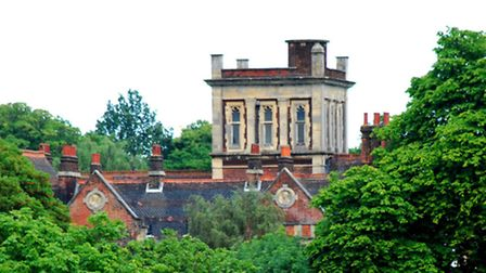 Athlone House as seen from Hampstead Heath. Picture: Polly Hancock