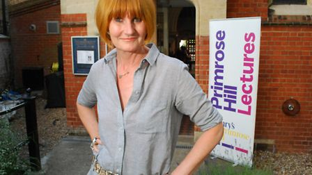 Mary Portas was speaking at St Mary's Primrose Hill. Picture: Polly Hancock