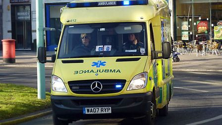 Drunken behaviour is costing the ambulance service thousands of pounds