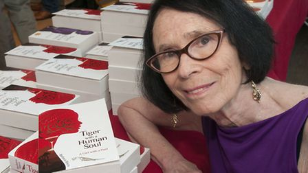 Belsize Park author Barbara Bisco launches her new book Tiger with a Human Soul at Foyles bookshop.