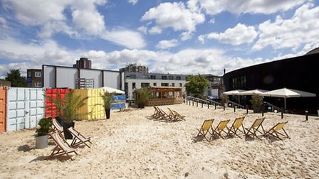Camden Beach at the Roundhouse opens this Sunday